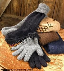 Reversible Alpaca Gloves