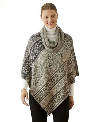NEW Granite Cowl Neck Poncho