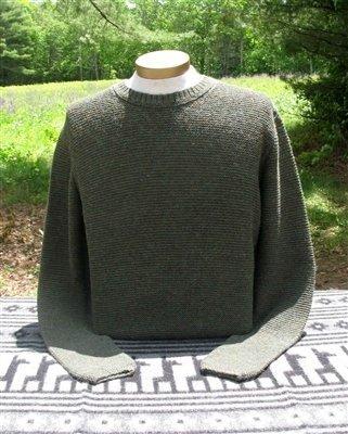 Men's Shaker Alpaca Sweater