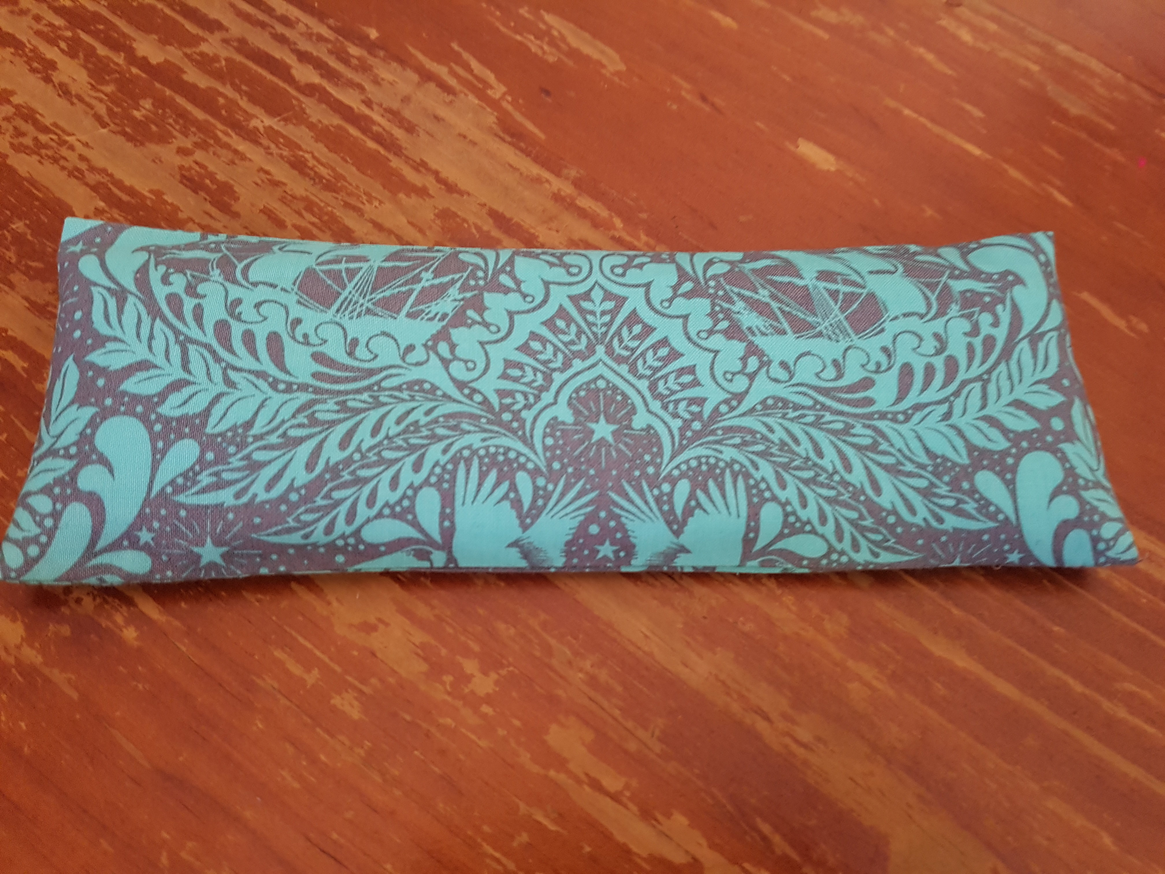 Eye Pillow - Turquoise/Taupe EP103