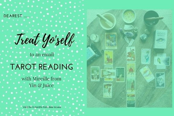Gift Certificate- Tarot Reading (audio recording- choose length of time) GC004