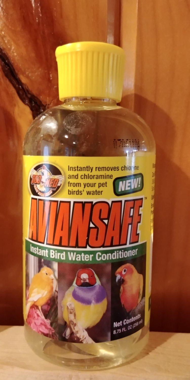 Aviansafe Water Conditioner 2.25 oz.