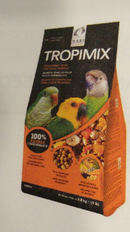 TROPIMIX FOR SMALL PARROTS