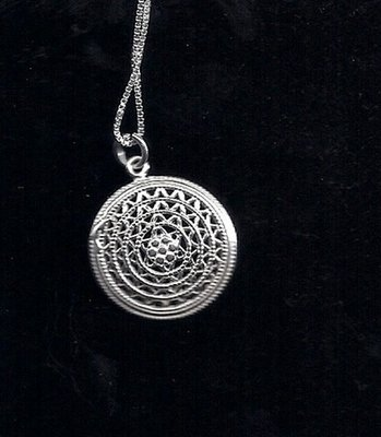 Shield Of David pendant