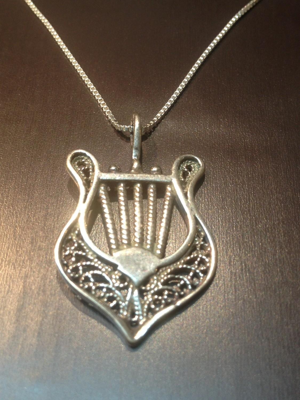 The Biblical  Harp of David