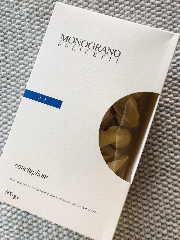 MONOGRANO Felicetti Conchiglioni 500g