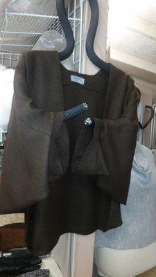 Dark Brown Woven Jacket