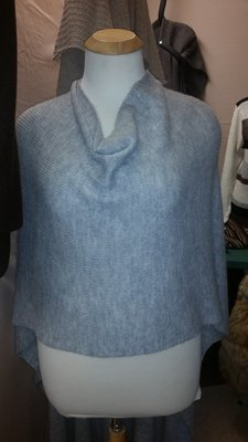 Scooped Neck Wrap & Long Back