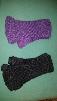 Textured Fingerles Gloves