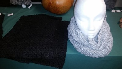 Thick wide Infinity scarf