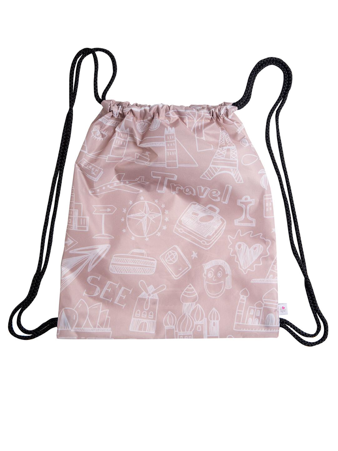 Рюкзак-мешок Travel бежевая