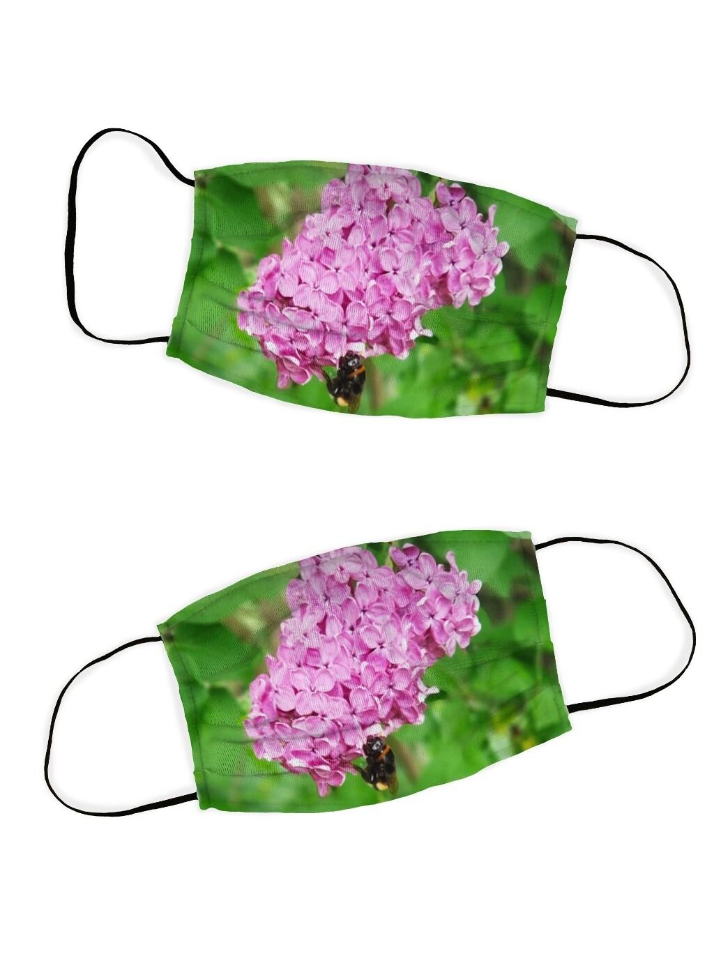 Защитная маска набор 2 шт. Сирень
