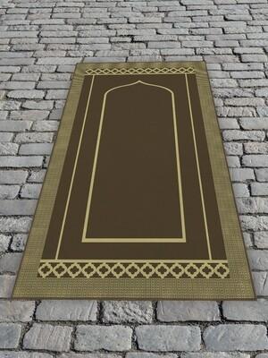 Молельный коврик Коричневый
