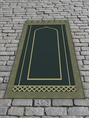 Молельный коврик Темно-зеленый
