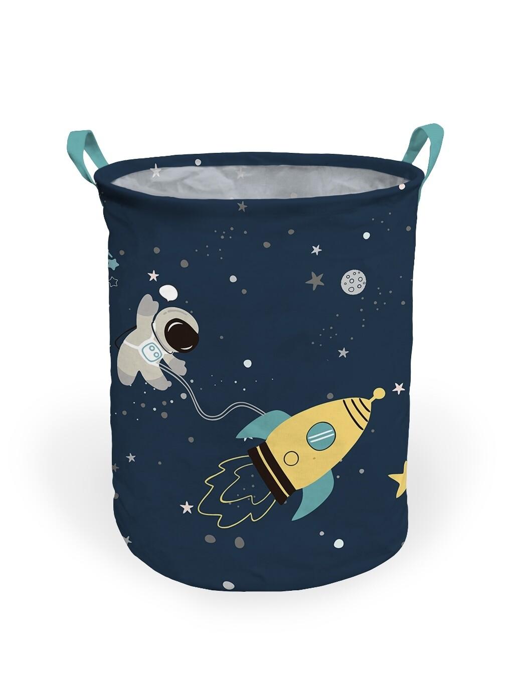 Корзина для белья Космос