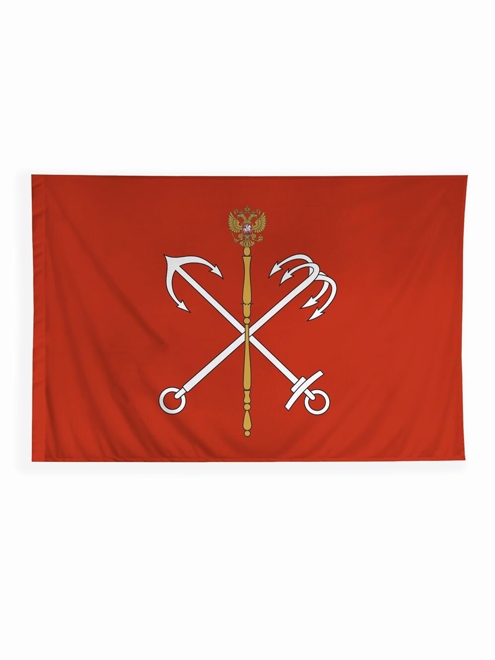 Флаг Санкт-Петербурга 135х90