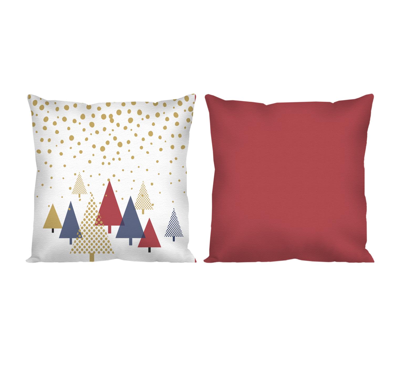 Декоративная подушка новогодние елки
