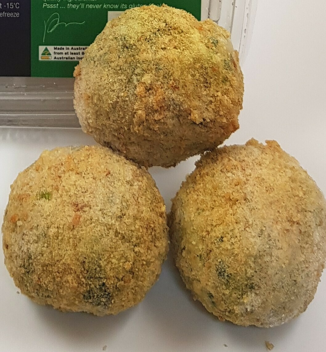 Palmira's Gluten Free Spinach & Fetta Arancini