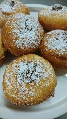 Palmira's Gluten Free Fried Nutella Donuts (6)