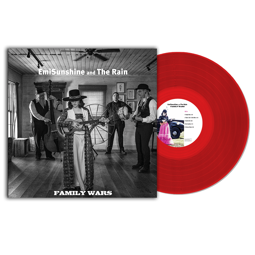 Family Wars Vinyl Record (Limited Crimson Edition)