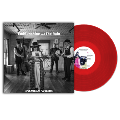 Family Wars Vinyl Record (Limited Crimson Edition)