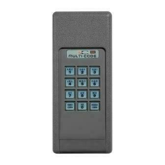 420001 Multi-Code Wireless Keypad, 300MHz