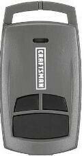 Sears Craftsman Three Button Key Chain Remote, 139.30499