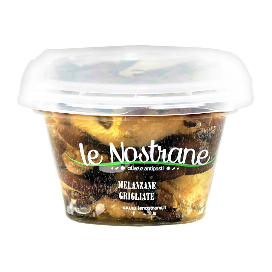 Grillattuja Munakoisoja Öljyssä | Grilled Aubergines | LE NOSTRANE | 200g