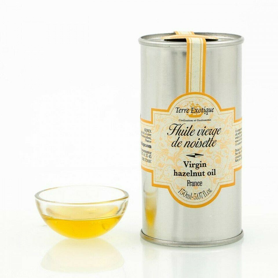 Hasselpähkinäöljy (Ranska) | Hazelnut Oil | TERRE EXOTIQUE | 150 ML