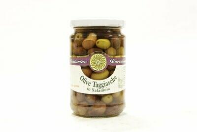 Kivelliset Oliivit Taggiasca Suolavedessä | Taggiasca Whole Olives In Brine | VENTURINO | 290 G