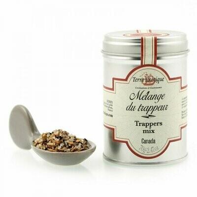 Turkismetsästäjän Mausteseos (Kanada)   Trapper's Spice Blend   TERRE EXOTIQUE   70g