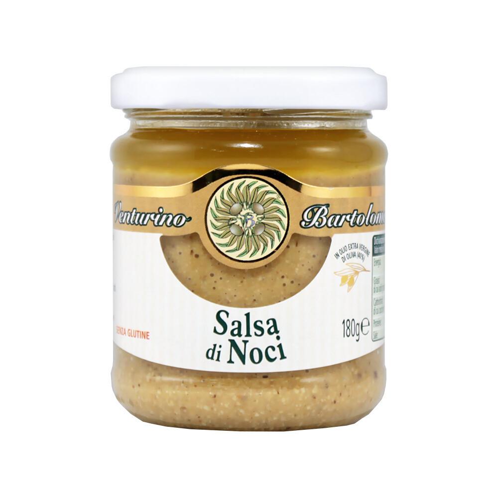 "Pähkinäkastike ""Salsa di Noci"" | Ligurian Walnut Sauce | VENTURINO | 180 G"