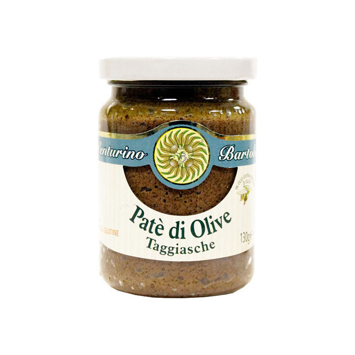 Taggiasca Oliivitahna   Taggiasca Olives Pate   VENTURINO   130 G