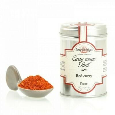 Thai Punainen Curry   Thai Red Curry   TERRE EXOTIQUE   60g