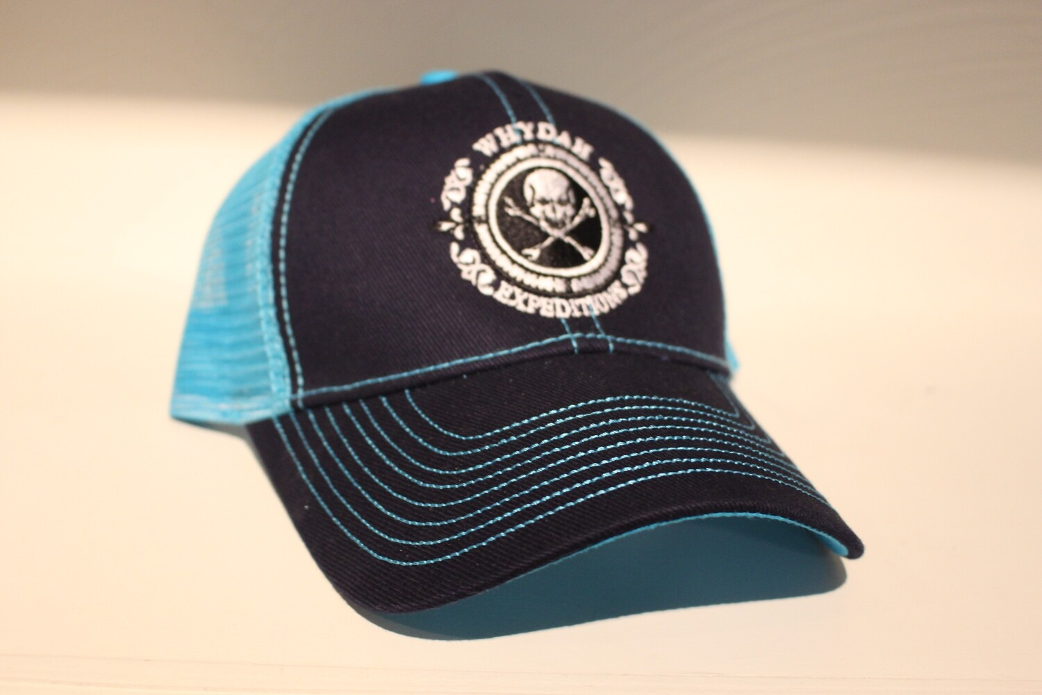 Expedition Whydah Teal Mesh Hat