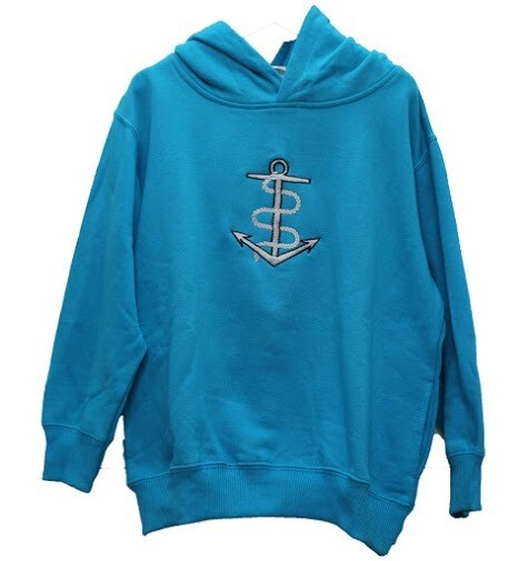 Kids Expedition Whydah Sweatshirt with Embroidered Anchor Logo