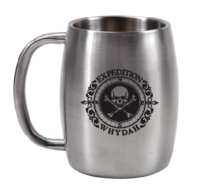14 oz  Stainless Steel Barrel Mug