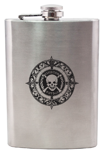 Stainless Steel Expedition Whydah Flask