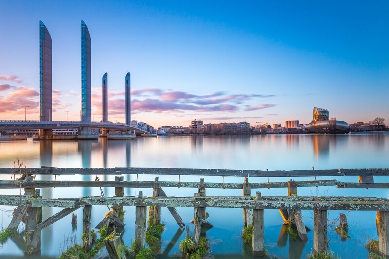 Docks sunset