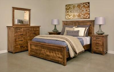 Adirondack Bedroom Set by Ruff Sawn