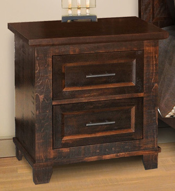 Algonquin Night Stand by Ruff Sawn
