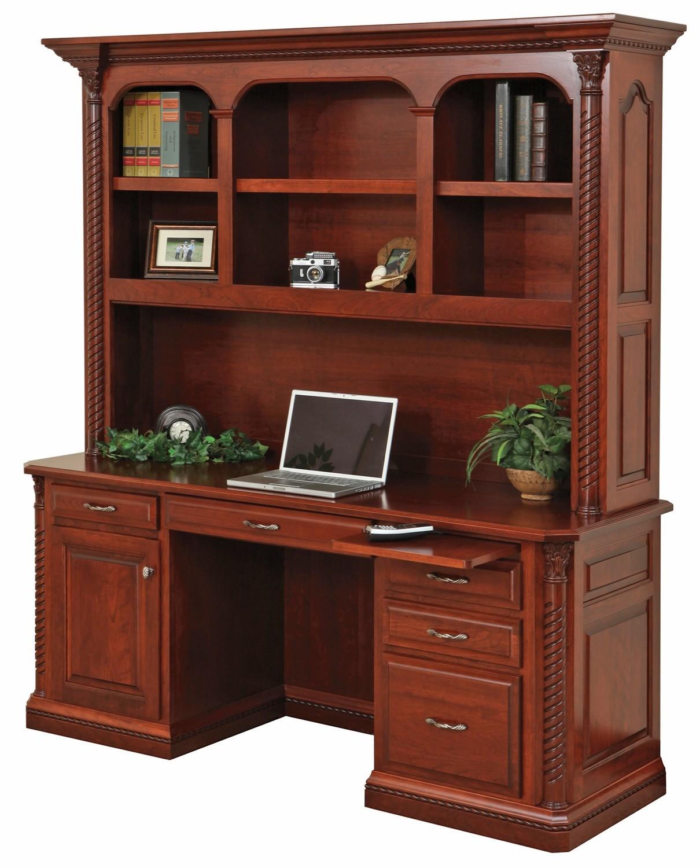 Lexington Credenza & Hutch Desk