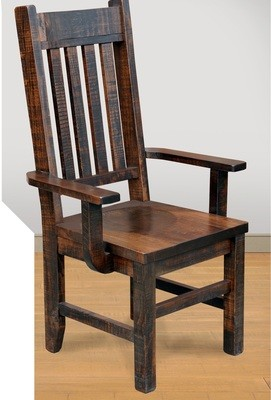 Benchmark Arm Chair by Ruff Sawn
