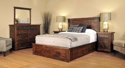 Muskoka Bedroom Set by Ruff Sawn