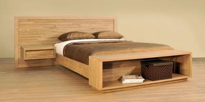 Ledge Rock Bed by Ruff Sawn