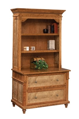 Bridgeport Lateral File & Bookshelf by Dutch Creek