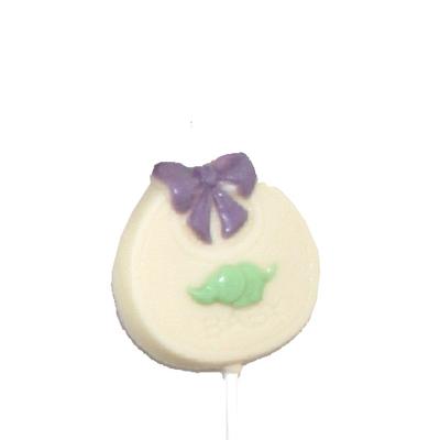 Chocolate Lollipops - Pollylops® - Baby Bib