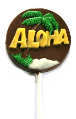 Chocolate Lollipops - Pollylops® - Aloha