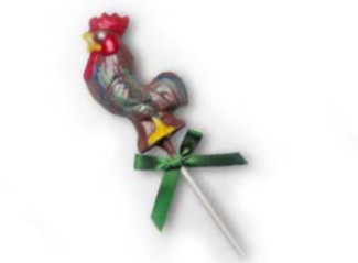 Chocolate Lollipops (Pollylops® Rooster)