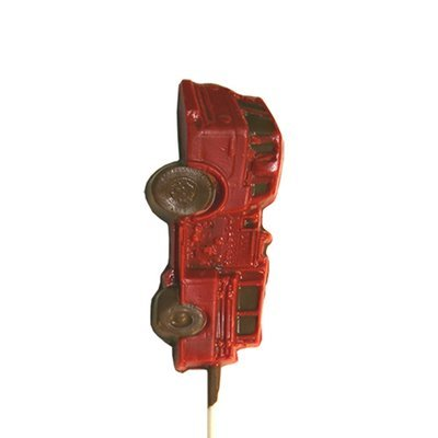 Chocolate Lollipops - Pollylops® - Fire Truck